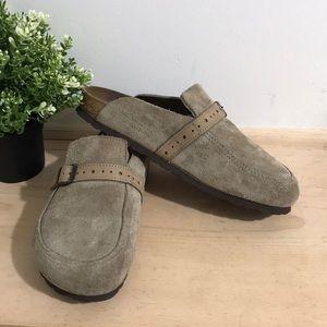 Birkenstock women shoes size 39 or 9Gray